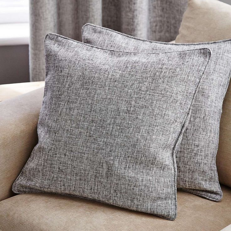 Vermont Monochrome Cushion | Dunelm