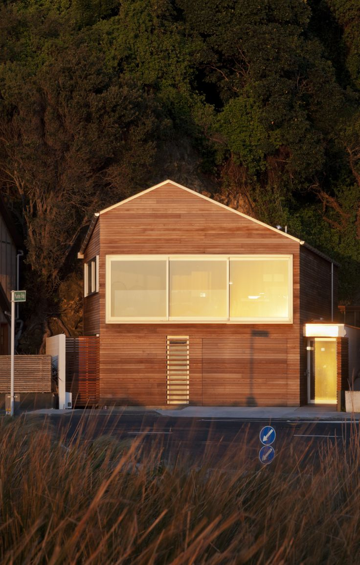 Timber House - Windy Point - Eastbourne - Wellington - Andrew Sexton Architecture