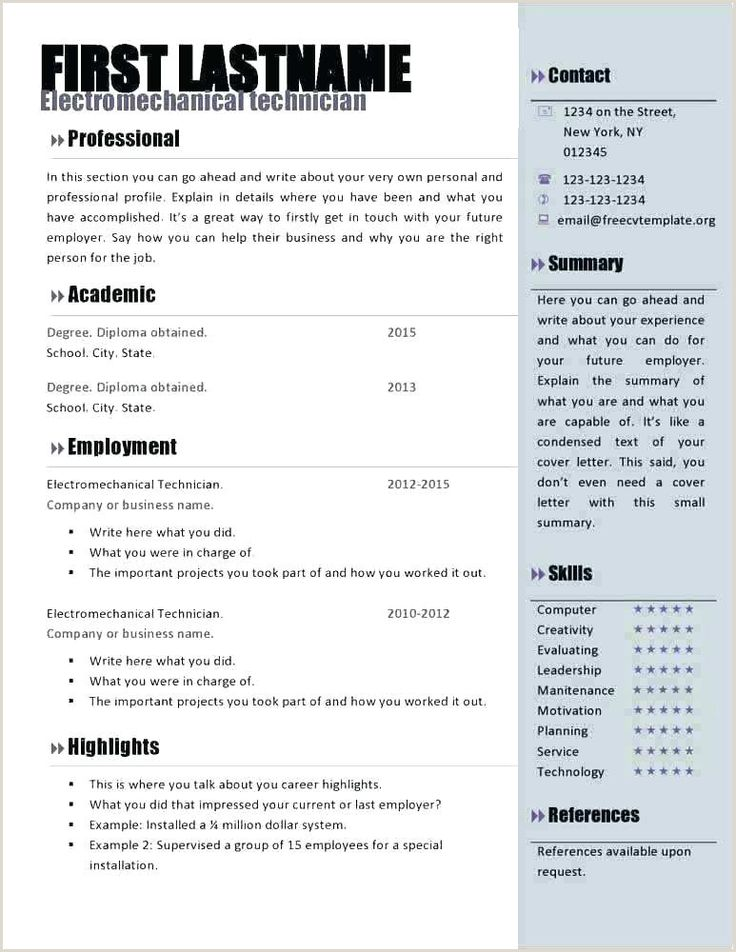 Curriculo Pronto Word Simples Download in 2020 Resume