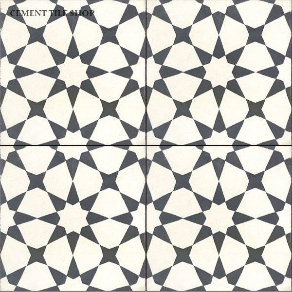 Cement Tile Shop - Handmade Cement Tile | Agadir White