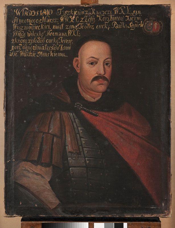 Portret Władysława Tyszkiewicza h. Leliwa (1644-1684), krajczego Wielkiego Księstwa Litewskiego