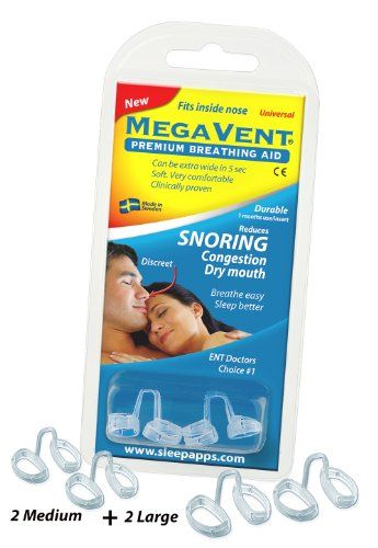 Megavent v 2.0 - New Swedish Nasal Breathing & Snoring Aid. CE reg. Clinically proven. Endorsed by ENT doctors. Can also be shaped individually. #Megavent #Swedish #Nasal #Breathing #Snoring #Aid. #reg. #Clinically #proven. #Endorsed #doctors. #also #shaped #individually.