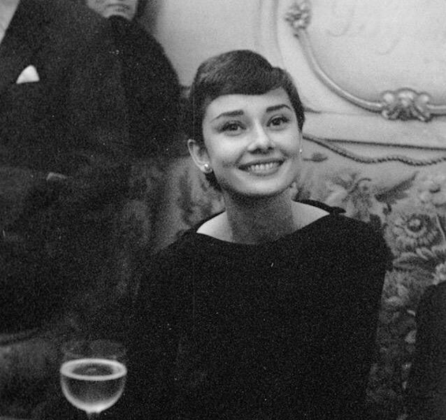 | distractful:   Audrey Hepburn in Paris, 1955