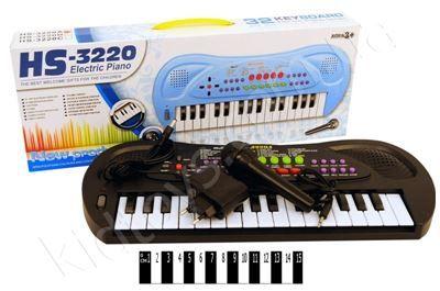 Піаніно з мікрофоном http://kidtoys.com.ua/ru/muz6910pianino-z-mikrofonom