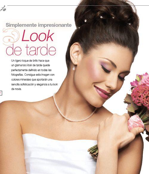 Maquillaje para novia: look de tarde