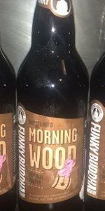 Morning Wood is a American Porter style beer brewed by Funky Buddha Brewery in Oakland Park, FL. 100 out of 100 with 73 reviews, ratings and opinions.