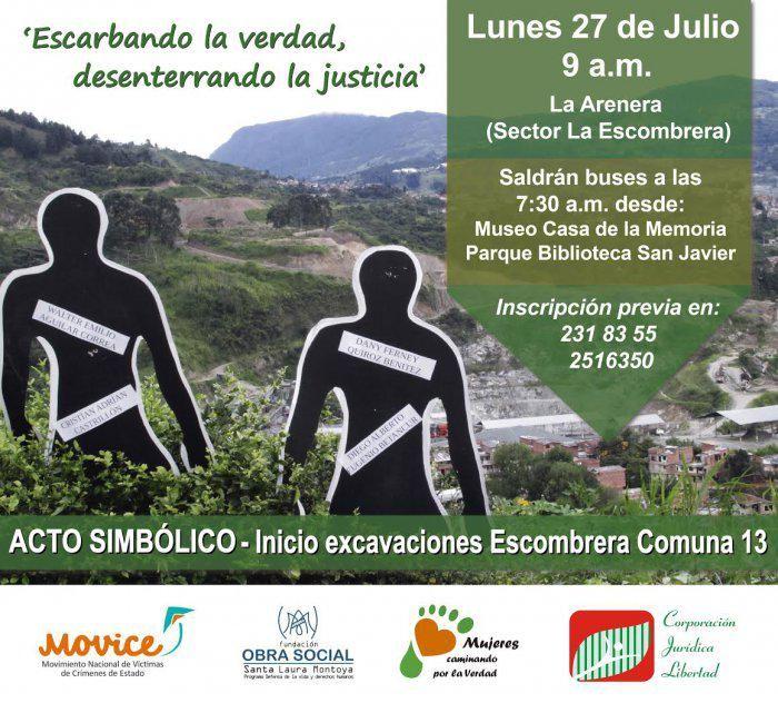 Se inician excavaciones en la Escombrera de la Comuna 13 - http://www.aliriouribe.com/se-inician-excavaciones-en-la-escombrera-de-la-comuna-13/…