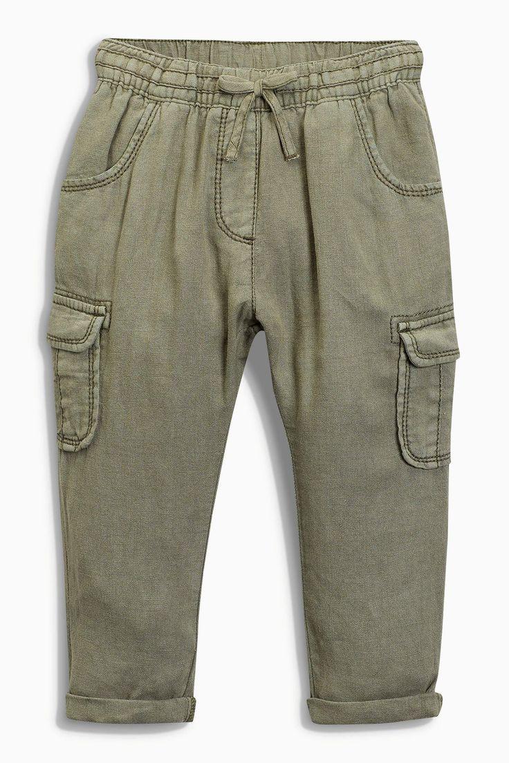 Купить Льняные брюки (3 мес.-6 лет) - Покупайте прямо сейчас на сайте Next: Россия