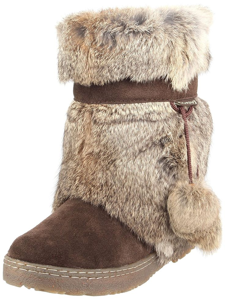 Bearpaw Women's Tama Rabbit Fur Boots *** If you love this, read review now : Women's snow boots