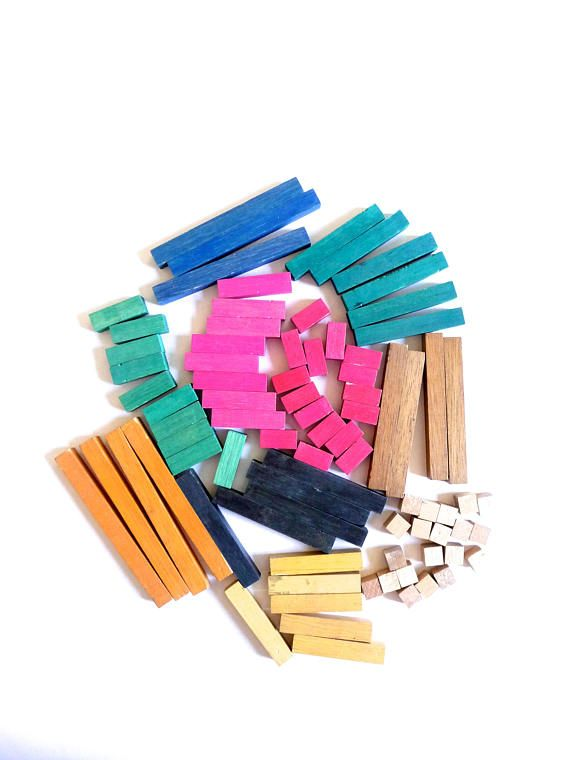 Cuisenaire Numbers-In-Colour Mathematics