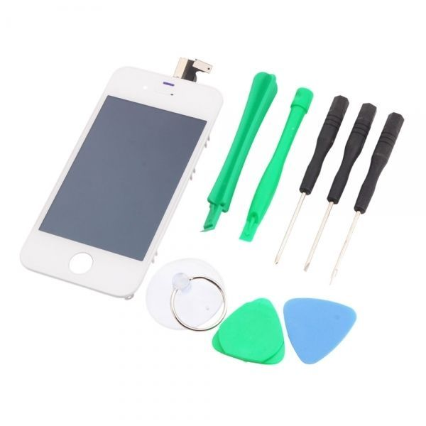 G Screen Digitizer Replacement Assembly IPhone 4 GSM Tools Sets White Cost Effe
