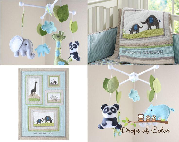 elephant and giraffe baby bedding - Google Search
