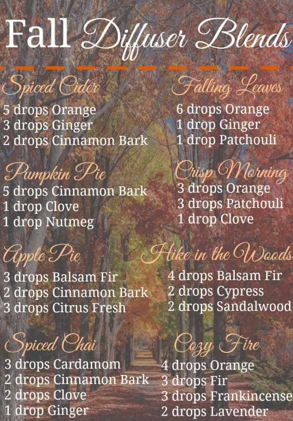 Fall diffuser blends: a non-toxic way to make your house smell amazing during the fall season! #essentialoils #diffuser