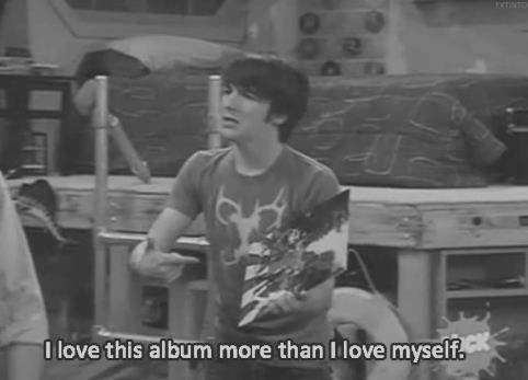This is me with my P!ATD albums. I am just realizing the amazingness of drake's beloved album