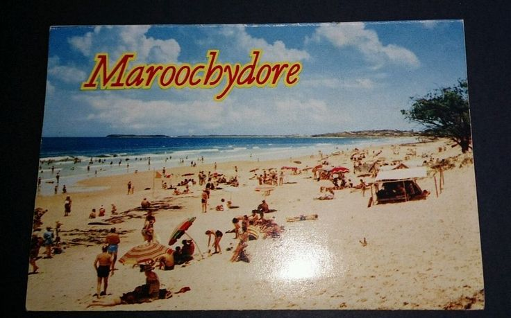 Australian Postcard Maroochydore 10 views, Unused Nucolorvue Production