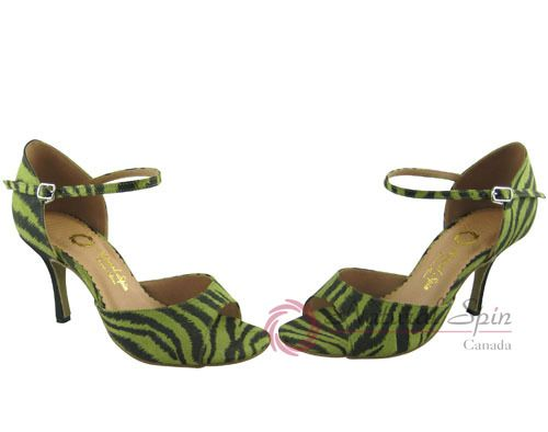 Natural Spin Tango Salsa Shoes/Tango Shoes/Fashion Shoes(Open Toe): T1102-07a_G