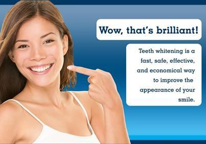 Teeth whitening is a fabulous, economical way to improve the appearance of your smile.  #SmileOasis.com