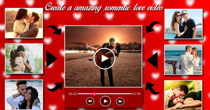 **Special Video Maker for Valentine Video Maker with Music **  A wonderful once you will produce your own Video for yourself in valentine days or another day.A stunning Video can cause you to relationship a lot of higher. Beautiful Romantic Love Video Maker App for Valentine Day!!!  Love Video Maker for Valentine Video Maker.  Create beautiful Video with pictures and music.Romantic Love Video Maker will assist you produce Love video- slideshow video from pictures and music.  Romantic…