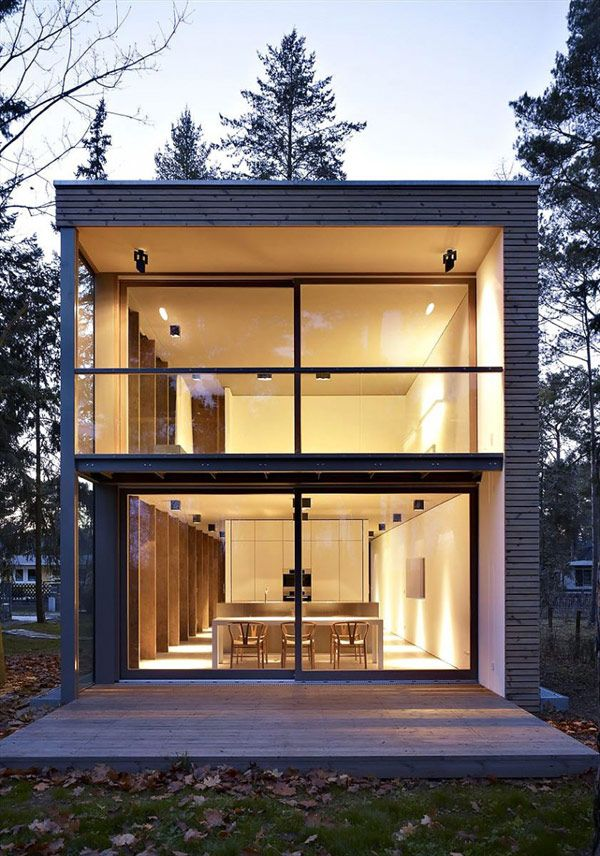 Sustainable Residence in Germany: The Minimum House #Architecture