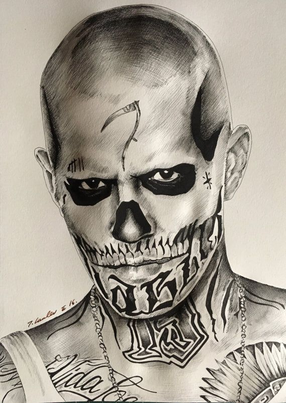 Hey, I found this really awesome Etsy listing at https://www.etsy.com/listing/480438200/el-diablo-suicide-squad-original