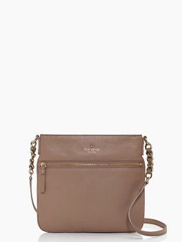 this crossbody bag is named after the residential brooklyn enclave known for its expansive historic district and well-maintained 19th century homes. crafted of a soft pebbled leather and crowned with