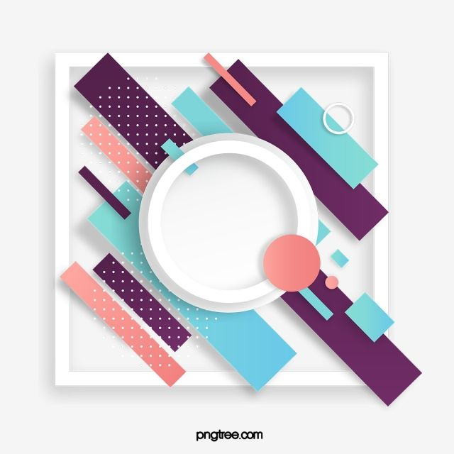 Colored Abstract Minimalistic Geometric Border Vector And Png Poster Background Design Photoshop Design Infographic Layout