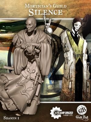 Steam Forge Games - GuildBall: Mortician: Silence #STFBMOR01-005