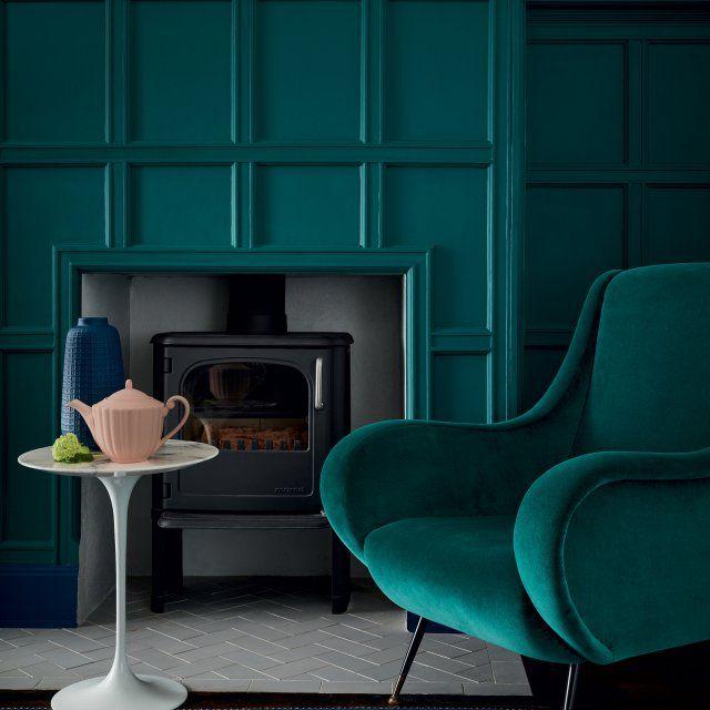 Les 25 meilleures id es tendance couleur bleu canard sur for Peinture vert canard