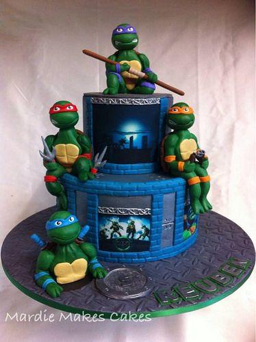 Teenage Mutant Ninja Turtle Cake Pop Tutorial