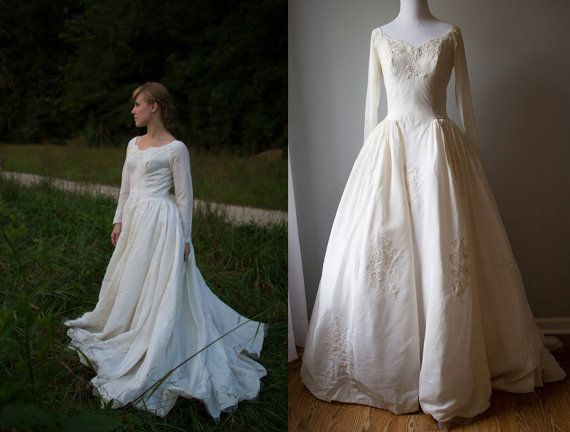 Vintage Priscilla of Boston Designer gown by VivianEliseVintage