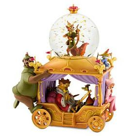 Disney Snowglobes Collectors Guide: Robin Hood 35th Anniversary Snowglobe. Oh. MY. GOD.