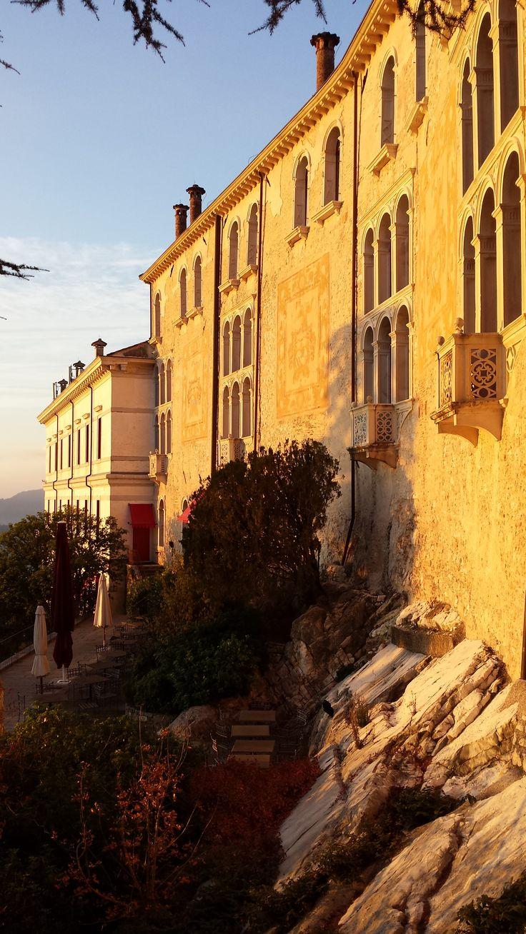 Location Castelbrando-Cison di Valmarino-TV -Italy #castle #castello #cisondivalmarino #italy #veneto