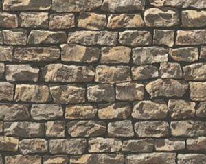 <p>Robuuste stenen muren geven veel karakter aan uw woon- of slaapkamer. Al met enkele banen geeft u elke ruimte een gevoel van rustieke eeuwigheid. Combineer dit ruige behang met egale tinten op de andere muren, naturel hout of wat strakke accessoires.</p>