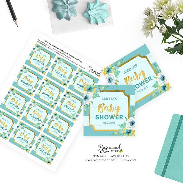 22 best Printable Baby Shower Invitations - Rosewood and Citrus on - printable baby shower invite