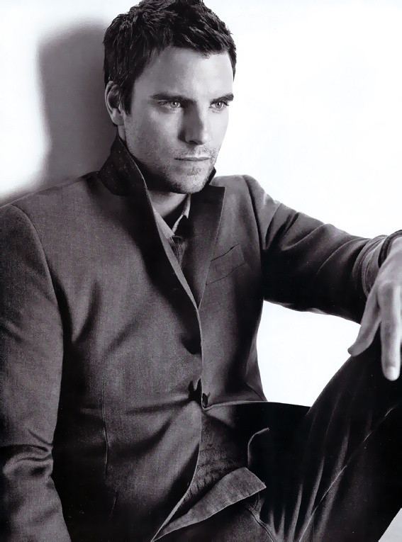 Colin Egglesfield was initially my first thought as Christian Grey... I could stare at this man all day!