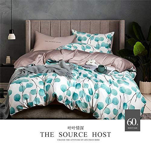 Luxury Solid Color Egyptian Cotton Bedding Set Duvet Cover Sheet