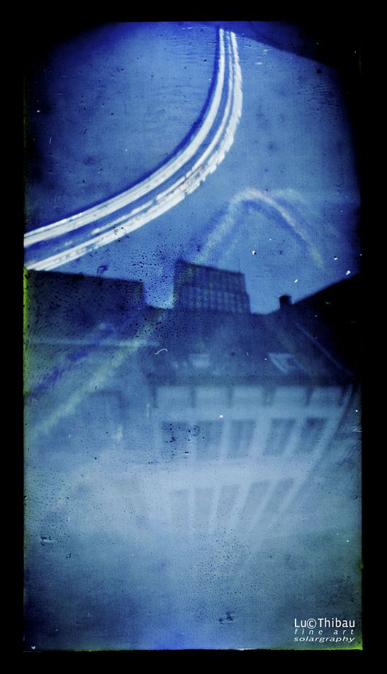 """This photographic technique, which results by influences of nature, in the most  fascinating images,colors,combination of path of the sun and landscapes, was  invented by Slawonir Decyk, Pawel Kula and Diego Lopez Calvin in 1999.  The reason why they called this ' Solargraphy"""" was because images came into being in camera's without lenses. More at www.lucthibau.com..."""