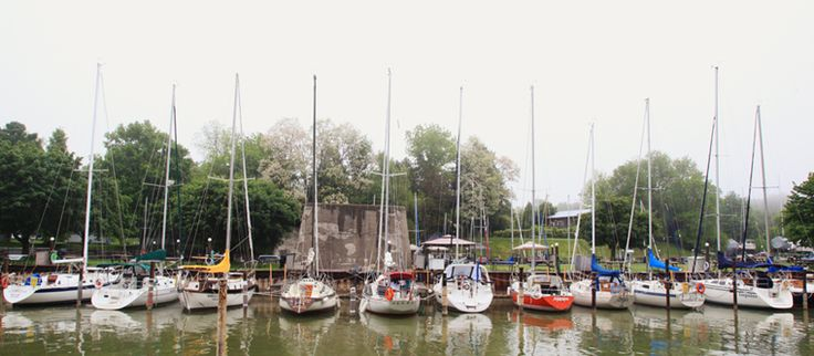 This is Huron » A Simple Photograph - The Bayfield Marina - Ontario
