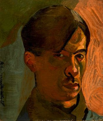 FRANTIŠEK TICHÝ (1896-1961) Autoportrét