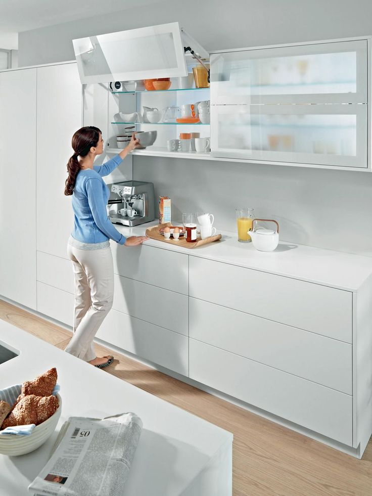 Double lift-up kitchen cabinet-LCET   Kitchen cabinet ...