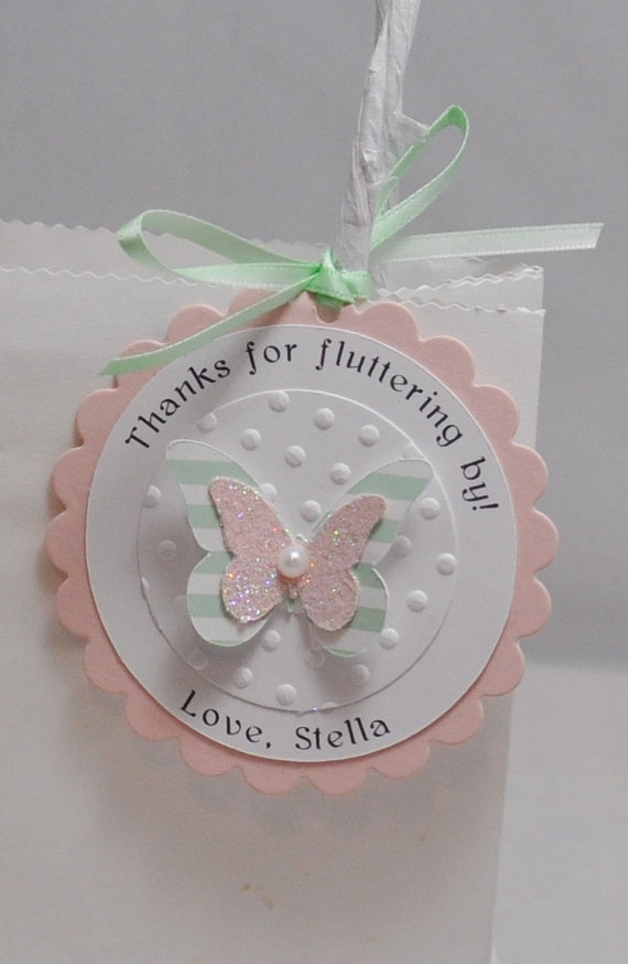 Personalized Thank You Favor Tags with by CardsandMoorebyTerri, $21.00