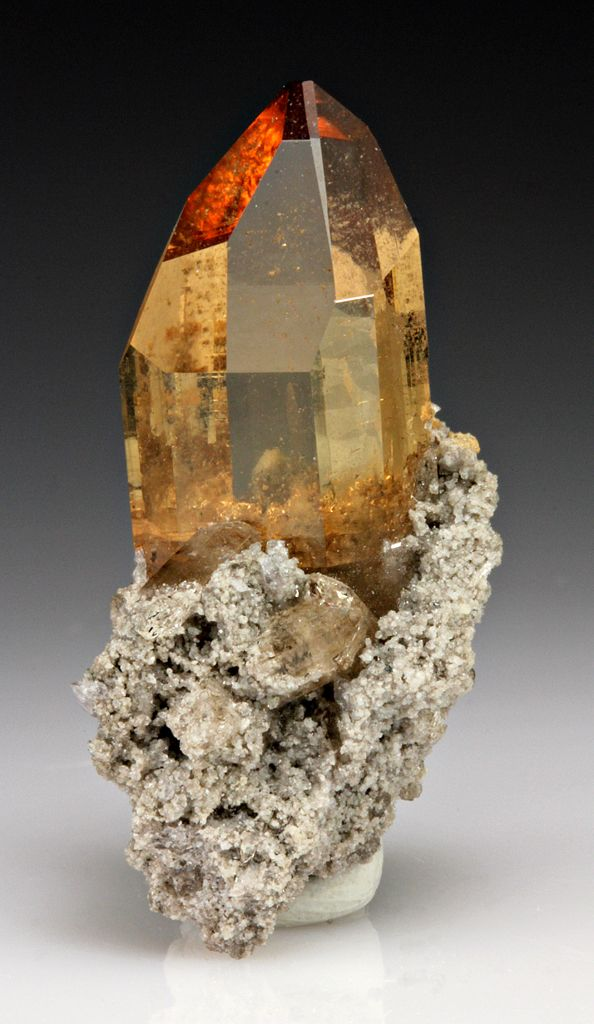 Topaz: excellent stone for meditating and attuning one to one's higher self…