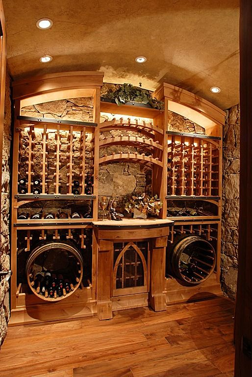 114 best the wine cellar images on pinterest wine rooms for Home wine cellar designs