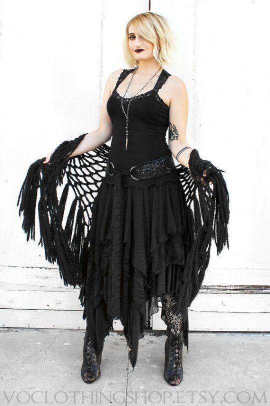 Plus size goth fashion | goth dresses . alternative, fantasy dresses ...