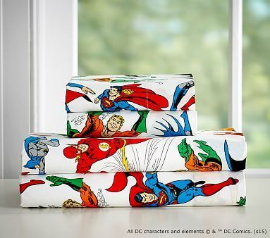 Justice League™ Sheet Set #pbkids in Queen