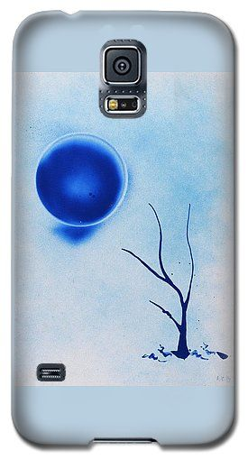 Timidity Galaxy S5 Case Printed with Fine Art spray painting image Timidity by Nandor Molnar (When you visit the Shop, change the orientation, background color and image size as you wish)