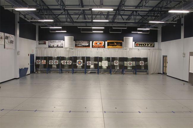 The Indoor Archery Range
