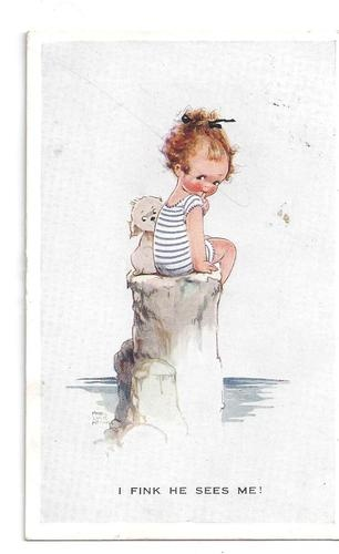 Mabel Lucie Attwell card via eBay