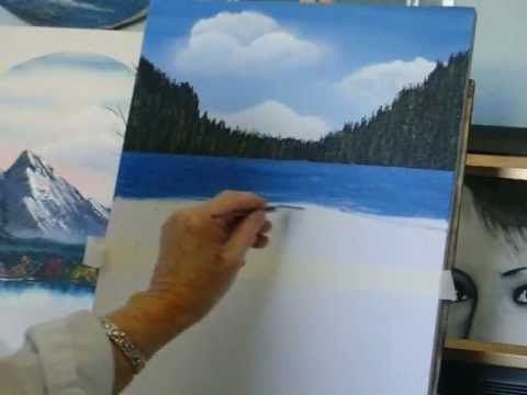 Acrylic Painting Lesson 4, how to paint water