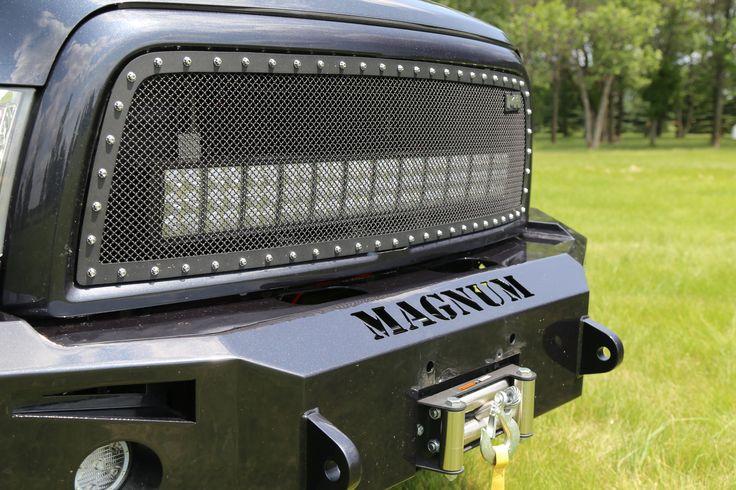 2013 Dodge Ram 2500 with ICI Magnum Winch Bumper